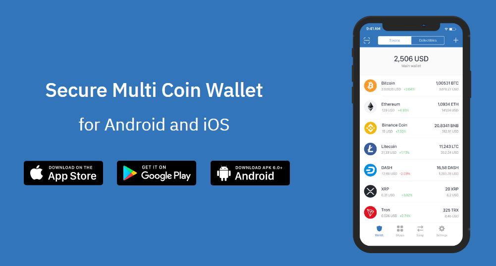 trust best mobile wallets