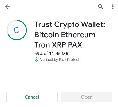 install trust wallet
