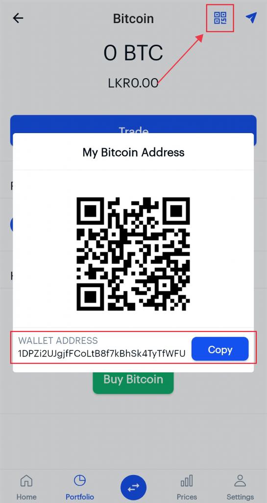 sending bitcoins coinbase wallet