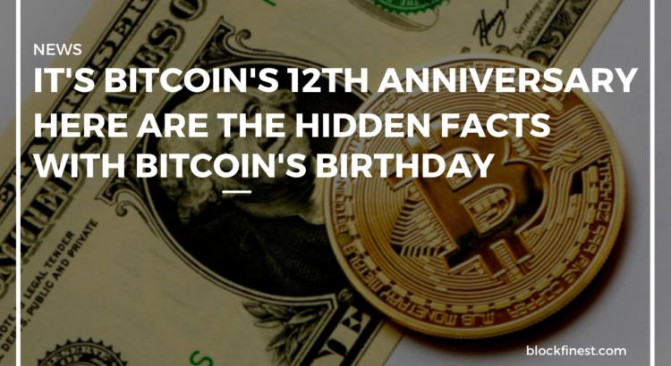 bitcoin's 12th anniversary