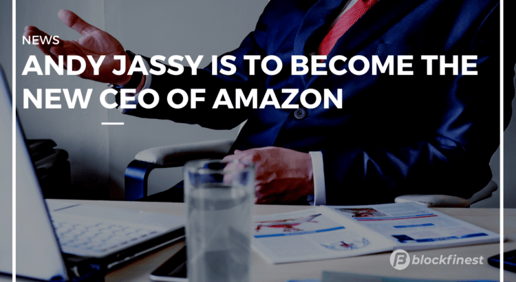 andy jassy is becoming the new ceo of amazon