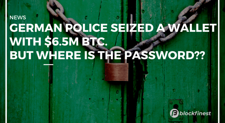 police seized a wallet with hacked bitcoins