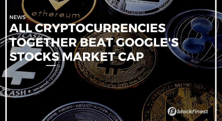 total crypto market cap beat google