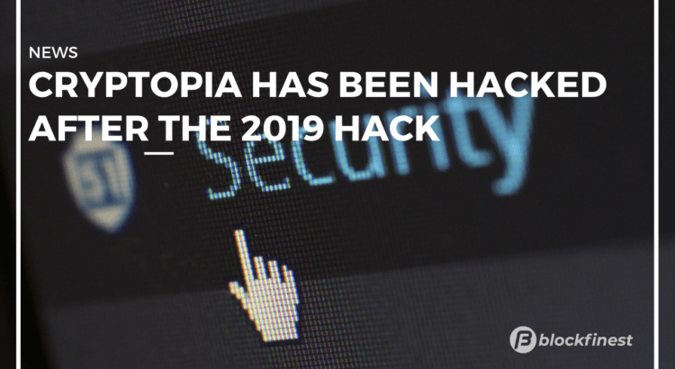 cryptopia has been hacked again