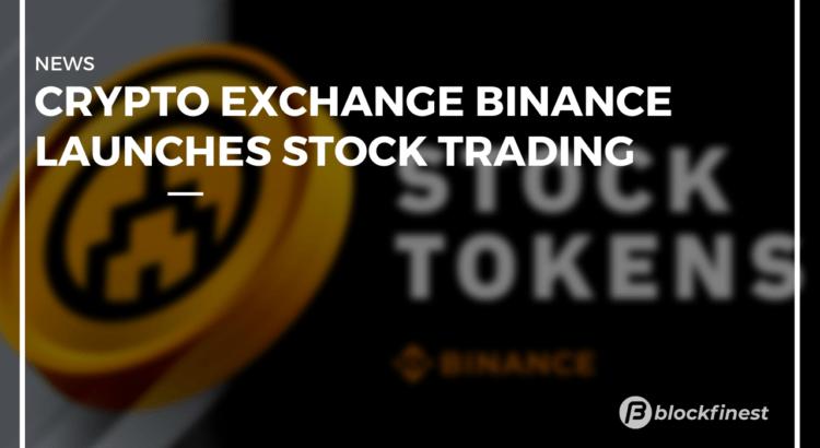 binance lauches stock trading